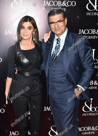 Editorial photo of Grand Re-Opening of the Jacob & Co. Flagship Store, Arrivals, New York, USA - 26 Apr 2018
