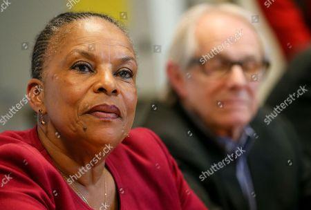 Ken Loach and Christiane Taubira