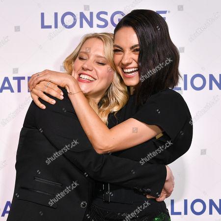 Kate McKinnon and Mila Kunis