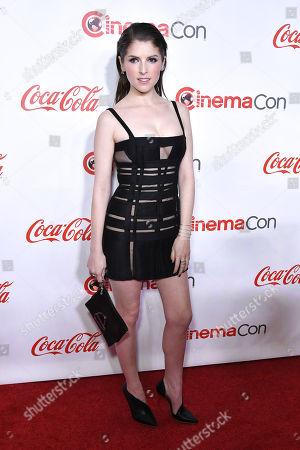 Editorial picture of Big Screen Achievement Awards, Arrivals, CinemaCon, Las Vegas, USA - 26 Apr 2018