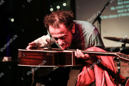 Editorial photo of Tom Zé in concert at Pioneer Works, New York, USA - 17 Apr 2018