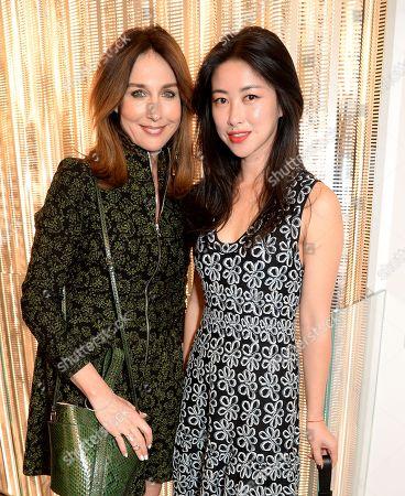 Elsa Zylberstein and Zhu Zhu