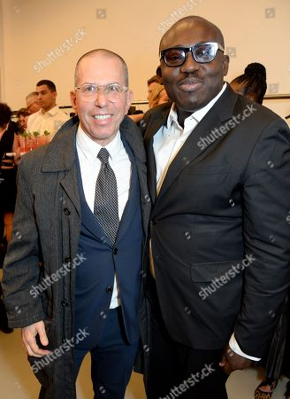 Jonathan Newhouse and Edward Enninful