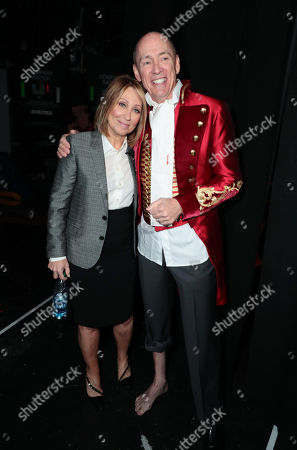 Stacey Snider, Chairman and CEO of Twentieth Century Fox Film, and Chris Aronson, President of domestic distribution for 20th Century Fox