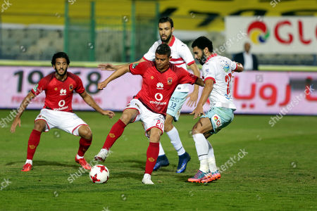 Editorial image of Al Ahly vs Al-Zamalek, Cairo, Egypt - 26 Apr 2018