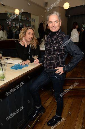 Stock Photo of Amelia Troubridge and Roberto Simic