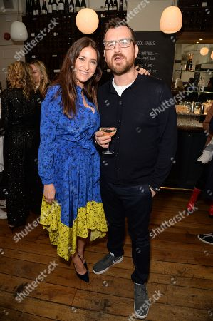 Lisa Snowdon and George Smart