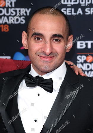 Editorial image of BT Sport Industry Awards, Battersea Evolution, London, UK - 26 Apr 2018