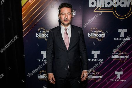 Stock Picture of Raul Mendez poses at the Latin Billboard Awards at Mandalay Bay Events Center, in Las Vegas