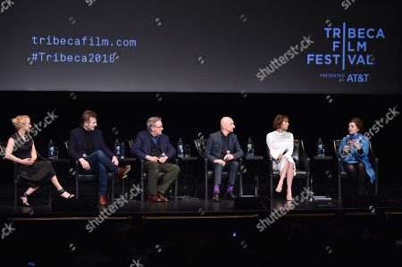 Editorial image of 'Schindler's List' film discussion, Tribeca Film Festival, New York, USA - 26 Apr 2018