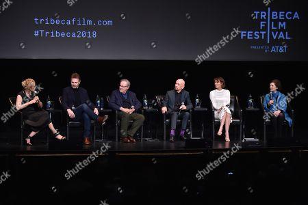 Caroline Goodall, Liam Neeson, Steven Spielberg, Sir Ben Kingsley, Embeth Davidtz, Janet Maslin
