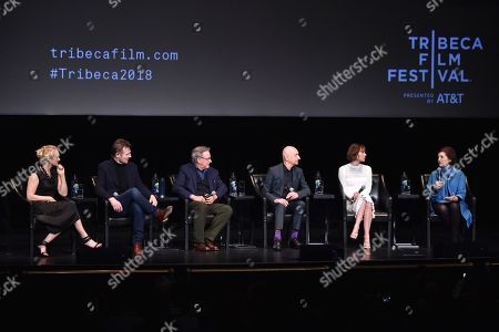 Editorial picture of 'Schindler's List' film discussion, Tribeca Film Festival, New York, USA - 26 Apr 2018