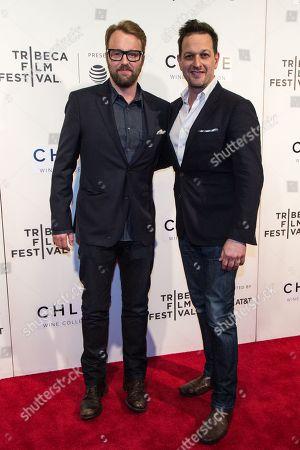 Joshua Leonard and Josh Charles