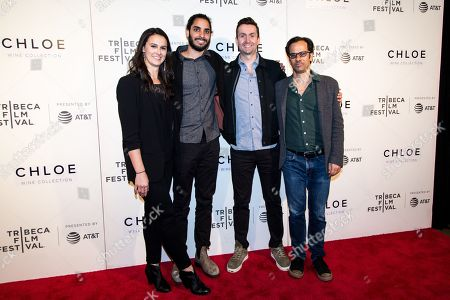 Editorial photo of Tribeca Film Festival Award in New York, USA - 26 Apr 2018