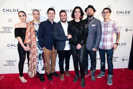 Editorial image of Tribeca Film Festival Award in New York, USA - 26 Apr 2018