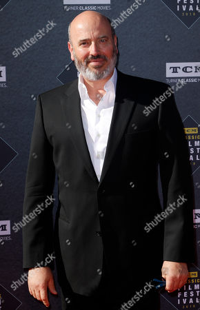 """Mark Bridges arrives at the screening of """"The Producers"""" at the 2018 TCM Classic Film Festival Opening Night at the TCL Chinese Theatre, in Los Angeles"""