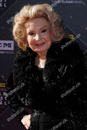 """Stock Photo of Cora Sue Collins arrives at the screening of """"The Producers"""" at the 2018 TCM Classic Film Festival Opening Night at the TCL Chinese Theatre, in Los Angeles"""