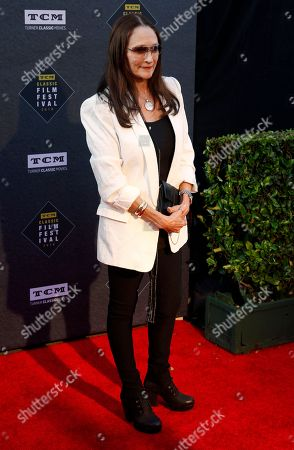 """Olivia Hussey arrives at the screening of """"The Producers"""" at the 2018 TCM Classic Film Festival Opening Night at the TCL Chinese Theatre, in Los Angeles"""