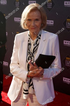 """Eva Marie Saint arrives at the screening of """"The Producers"""" at the 2018 TCM Classic Film Festival Opening Night at the TCL Chinese Theatre, in Los Angeles"""