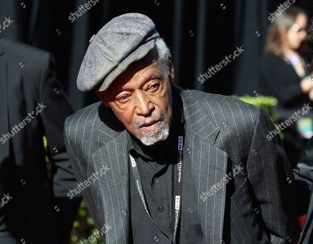 """Melvin Van Peebles arrives at the screening of """"The Producers"""" at the 2018 TCM Classic Film Festival Opening Night at the TCL Chinese Theatre, in Los Angeles"""