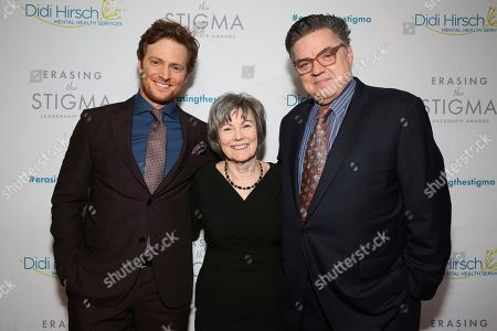 Nick Gehlfuss, Kita S. Curry, Oliver Platt. Nick Gehlfuss, Dr. Kita S. Curry - President/CEO Didi Hirsch Mental Health Services, and Oliver Platt seen at the 2018 Erasing the Stigma Leadership Awards at the Beverly Hilton Hotel on Thursday, April 26, in Beverly Hills, Calif