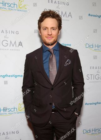 Nick Gehlfuss seen at the 2018 Erasing the Stigma Leadership Awards at the Beverly Hilton Hotel on Thursday, April 26, in Beverly Hills, Calif