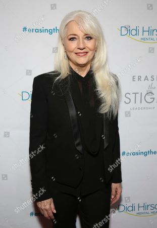 Cynthia Germanotta seen at the 2018 Erasing the Stigma Leadership Awards at the Beverly Hilton Hotel on Thursday, April 26, in Beverly Hills, Calif