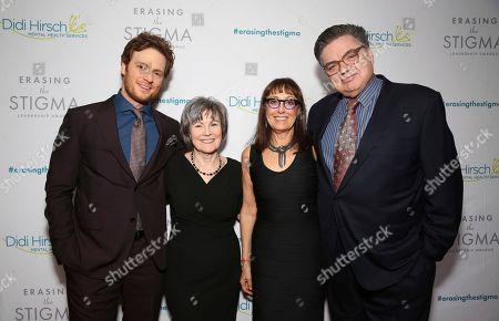 Nick Gehlfuss, Kita S. Curry, Laura Ornest, Oliver Platt. Nick Gehlfuss, Dr. Kita S. Curry - President/CEO Didi Hirsch Mental Health Services, Laura Ernest and Oliver Platt seen at the 2018 Erasing the Stigma Leadership Awards at the Beverly Hilton Hotel on Thursday, April 26, in Beverly Hills, Calif