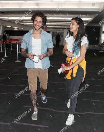 Stock Image of Tyler Posey and Sophia Taylor Ali