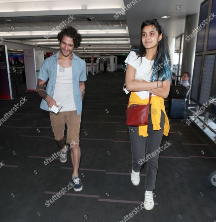 Editorial photo of Tyler Posey at LAX International Airport, Los Angeles, USA - 26 Apr 2018