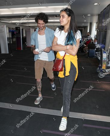 Editorial image of Tyler Posey at LAX International Airport, Los Angeles, USA - 26 Apr 2018