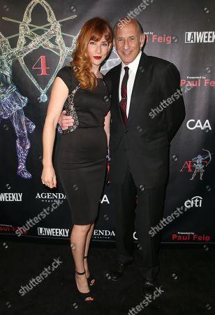 Elizabeth Keller and Richard Portnow