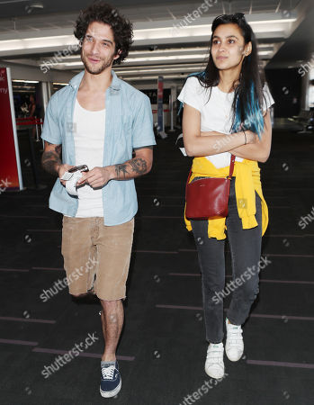 Editorial picture of Tyler Posey at LAX International Airport, Los Angeles, USA - 26 Apr 2018