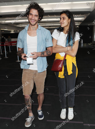 Tyler Posey and Sophia Taylor Ali