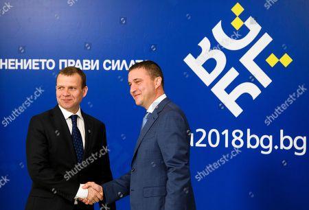 Vladislav Goranov and Petteri Orpo