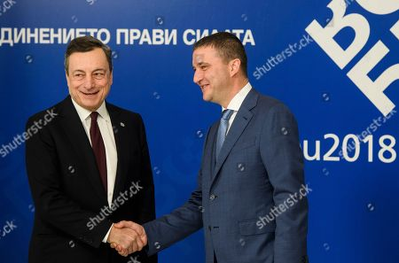 Editorial photo of European Union informal meeting of economic and financial affairs ministers, Sofia, Bulgaria - 27 Apr 2018