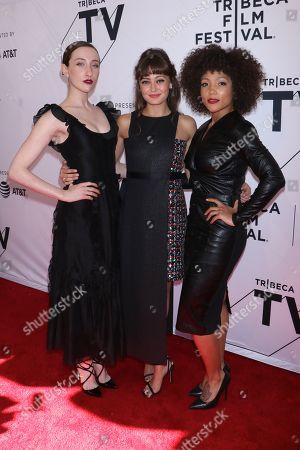 Eden Epstein, Ella Purnell and Jasmine Matthews