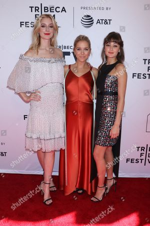 Caitlin Fitzgerald, Stephanie Danler, Creator/Writer/Executive Producer and Ella Purnell