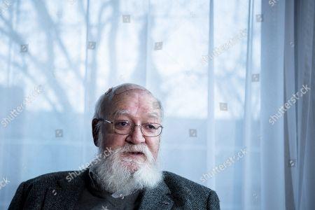 Editorial photo of Daniel Dennett, Stockholm, Sweden - 14 Nov 2017