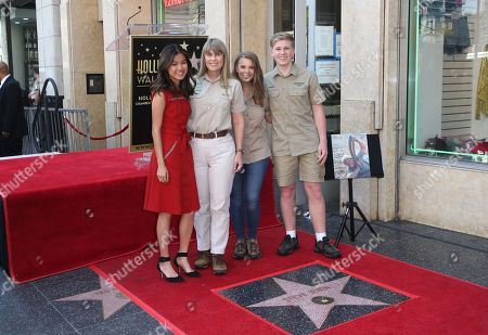Editorial picture of Steve Irwin Honored with a Star on the Hollywood Walk of Fame, Los Angeles, USA - 26 Apr 2018