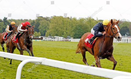 CRYSTAL HOPE (William Buick) wins The Nordoff Robbins David Enthoven Memorial Fillies Novice Stakes Sandown