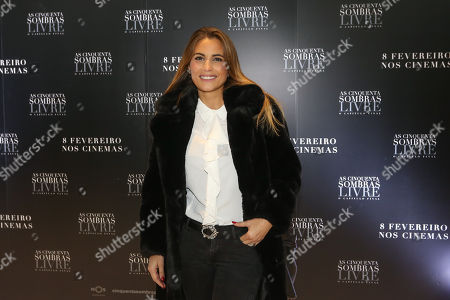 Editorial image of 'Fifty Shades Freed' film screening, Lisbon, Portugal - 06 Feb 2018