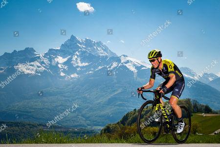 Editorial image of Cycling Tour de Romandie - third stage, Huemoz, Switzerland - 27 Apr 2018