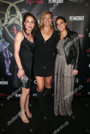 Yancy Butler, Zoe Bell, Michelle Rodriguez