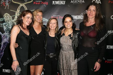 Yancy Butler, Zoe Bell, Debbie Evans, Michelle Rodriguez, Melanie Wise