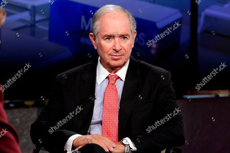 "The Blackstone Group Chairman & CEO Stephen A. Schwarzman is interviewed by Maria Bartiromo during her ""Mornings with Maria Bartiromo"" program, on the Fox Business Network, in New York"