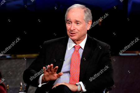 Editorial image of Blackstone Group Stephen Schwarzman, New York, USA - 27 Apr 2018