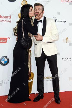 Jasmin Tabatabai and Edin Hasanovic