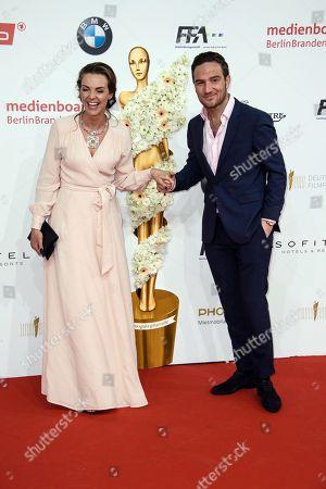Stock Photo of Frederick Lau and Annika Kipp