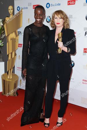 Birgit Minichmayr and Florence Kasumba